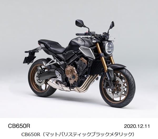 ホンダ、ロードスポーツモデル「CB650R」「CBR650R」のカラーリングなどの仕様を変更し発売