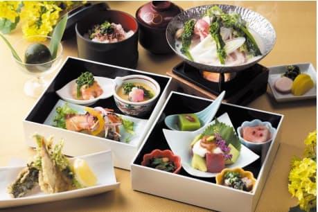 琵琶湖マリオットホテル、レストラン「Grill & Dining G」で「NANOHANA Lunch」