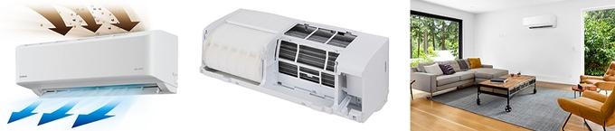 アイリスオーヤマ、「airwill(エアウィル)」シリーズから「内部清潔エアコン」