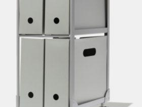 コクヨ、THINK OF THINGSのストックファニチャーシリーズの新ラインナップ「ANY BOX LIGHT」