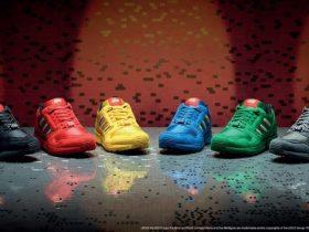 アディダス、「adidas Originals」からレゴグループとのコラボレートモデル「ZX 8000 LEGO」