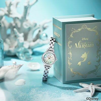 シチズン時計、ディズニーアニメーション「リトル・マーメイド」の世界観を表現した数量限定モデル