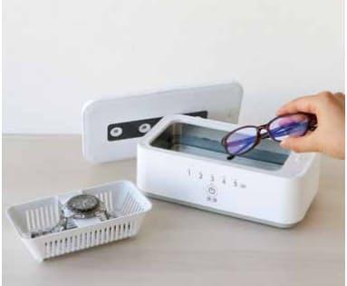 電響社、UV除菌と超音波洗浄が1台で可能なUV除菌&超音波洗浄器