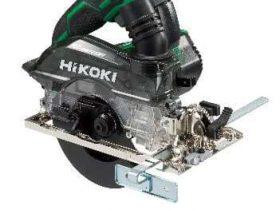 工機HD、「HiKOKI」からクラス最小・最軽量の深切り電子集じん丸のこ「C 5YEを」