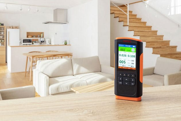 サンワサプライ、PM2.5測定器「CHE-PM25」