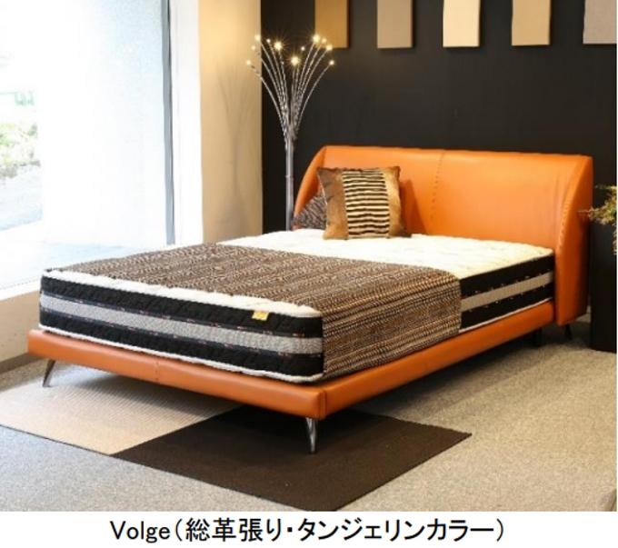 東京ベッド、ハイクオリティベッドフレームシリーズ「R-story's」より「Volge」