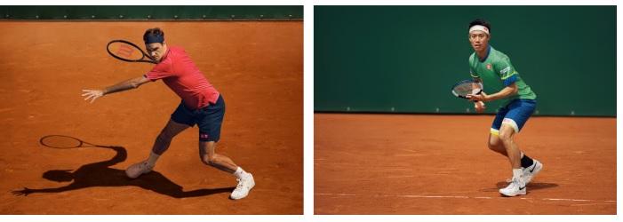ユニクロ、フェデラー選手と錦織選手が「全仏オープンテニス 2021」で着用するゲームウエアのレプリカ