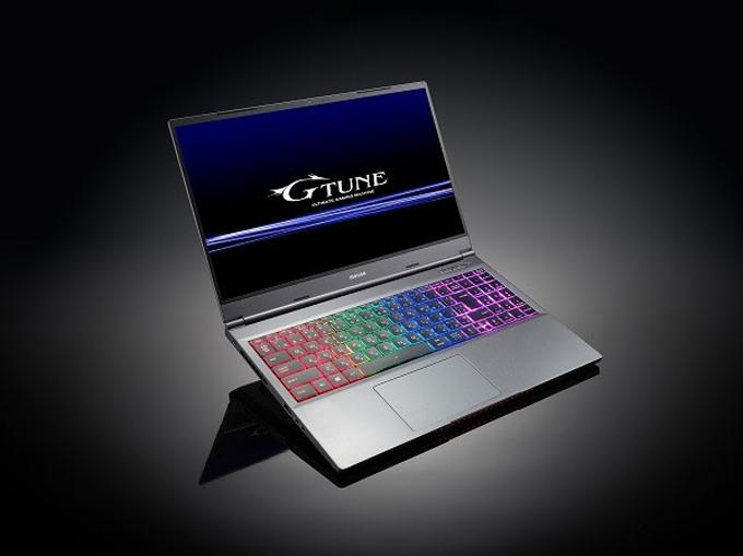 マウスコンピューター、「G-Tune」から15.6型ゲーミングパソコン「G-Tune E5-165」