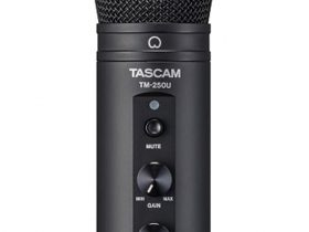 ティアック、TASCAM(タスカム)ブランドからオンラインコミュニケーションに適した「USBマイクロホン」