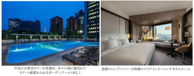 ANAインターコンチネンタルホテル東京、35時間滞在できるユニークな宿泊プラン「ファンタイム!」