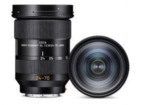 独ライカカメラ、高性能ズームレンズ「ライカ バリオ・エルマリートSL f2.8/24-70mm ASPH.」