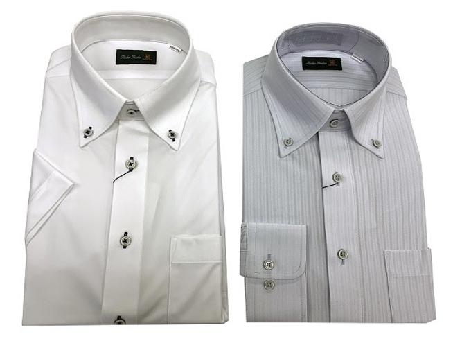 はるやま商事、「はるやま」よりRUCKEN BACCHAR「抗菌ニットワイシャツ」