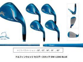 キャスコ、「ドルフィンウェッジ セミグース DW-120G BLUE」