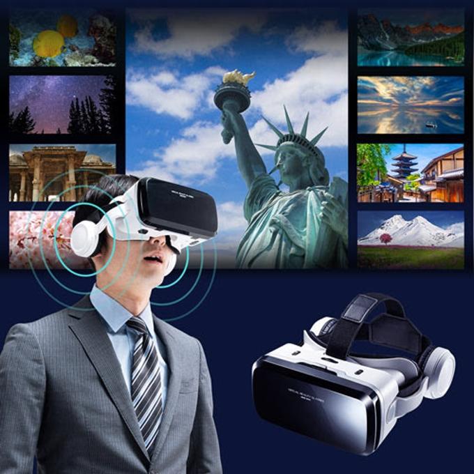 サンワサプライ、スマホでVR映像を体験できるBluetoothコントローラー内蔵VRゴーグル「MED-VRG6」
