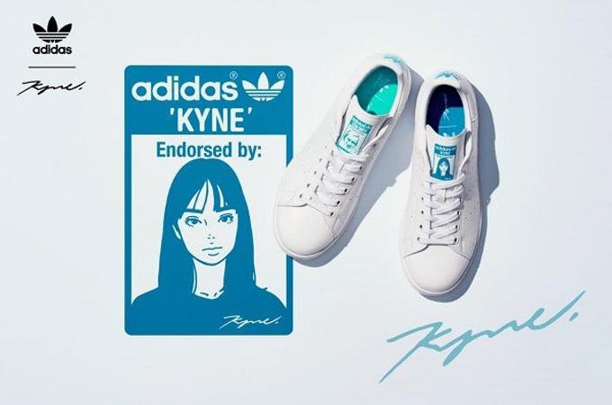"""アディダス、アーティスト""""KYNE""""とのコラボ「adidas Originals by KYNE」"""