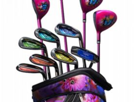 マジェスティ ゴルフ、蜷川実花氏のディレクションブランドとコラボした女性向けゴルフクラブセット