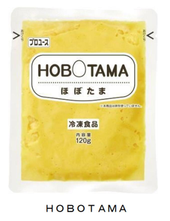 キユーピー、原材料の大部分が植物由来のスクランブルエッグ風商品「HOBOTAMA」