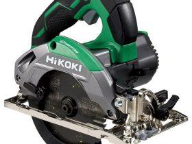 工機HD、「HiKOKI(ハイコーキ)」から深切り電子丸のこ2機種