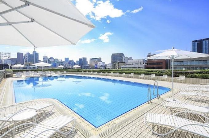 東京ドームホテル、夏季限定「《1日40名限定・完全入れ替え制》ガーデンプールプラン2021」