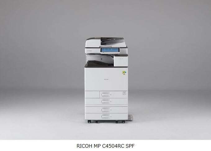 リコー、環境負荷を低減したフルカラー再生複合機「RICOH MP C4504RC SPF/C3004RC SPF」