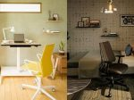 コクヨ、在宅勤務向けのフットレスト付き電動昇降デスク「STANDSIT(スタンジット)」