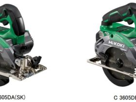 工機HD、「HiKOKI(ハイコーキ)」からチップソー「黒鯱」が標準付属した36Vコードレス丸のこ2機種