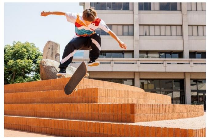 ナイキ、日本のスケートボードのフェデレーションキット