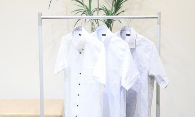 青山商事、部屋干し臭を抑制する半袖ビジネスシャツ