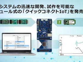 ルネサス、IoTシステム設計プラットフォーム「クイックコネクト IoT」