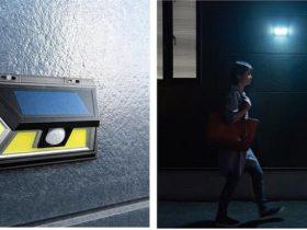 サンワサプライ、明暗センサーと人感センサーを搭載したLEDライト「800-LED036」