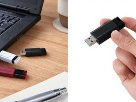 エレコム、ノック式USBメモリータイプのセキュリティ機能付外付けSSD