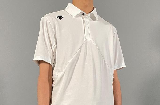 デサントジャパン、デサント直営5店舗にて大谷翔平選手の意見をもとに開発したメンズ用ポロシャツ
