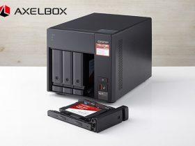 テックウインド、第二世代となる次世代型高速NAS「AXELBOX(アクセルボックス)」シリーズ