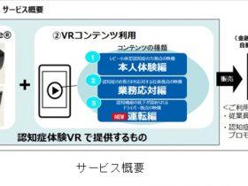 凸版印刷、「認知症体験 VR」の新コンテンツ「運転編」