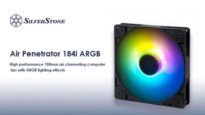 テックウインド、SilverStone製ケースファンシリーズ「Air Penetrator 184i ARGB」