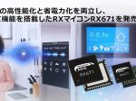 ルネサス、HMI機能を搭載した32ビットマイコンRXファミリ「RX671」