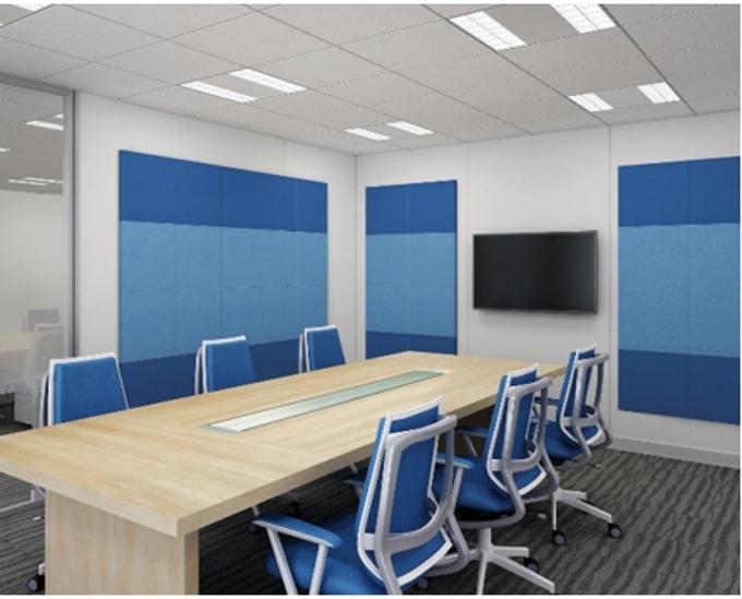 大建工業、サイズやカラーバリエーションを拡充した壁面吸音パネル「OFF TONE マグネットパネル N」