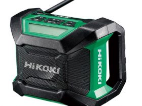 工機HD、電動工具ブランド「HiKOKI」からコードレスラジオ「UR 18DA」