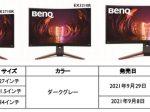 ベンキュージャパン、ゲーミングモニターブランド「MOBIUZ」より湾曲ゲーミングモニター3機種