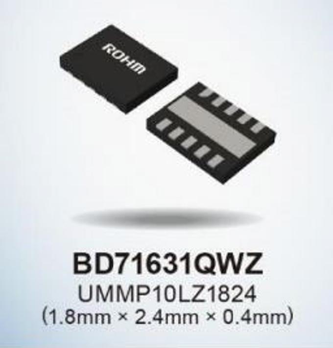 ローム、新型二次電池などの低電圧充電に対応する充電制御IC「BD71631QWZ」