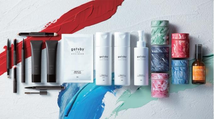 マンダム、多様な自己表現を実現するメンズ向けのコスメライン「gatsby THE DESIGNER」