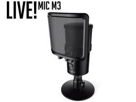 クリエイティブメディア、USBコンデンサーマイク「Creative Live! Mic M3」