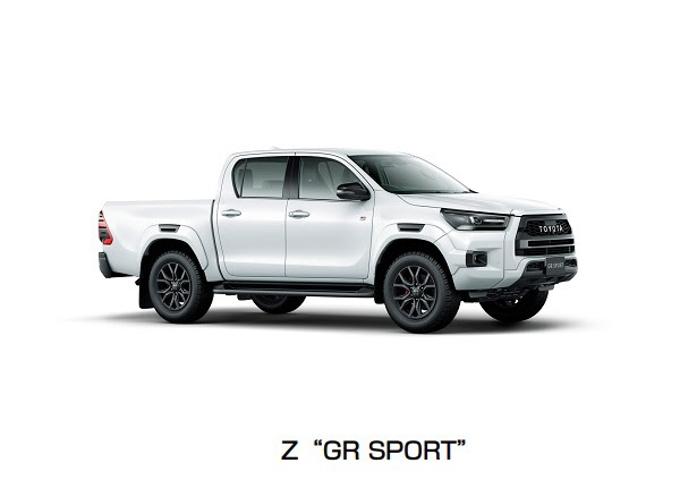 """トヨタ、「ハイラックス」に「Z""""GR SPORT""""」を追加するとともにZ・X"""