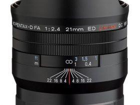 リコーイメージング、「HD PENTAX-D FA 21mmF2.4ED Limited DC WR」