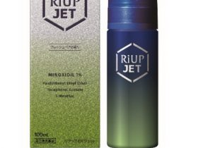 大正製薬、ミノキシジル1%配合の発毛トニック「リアップEXジェット」