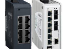 シュナイダーエレクトリック、産業用イーサネットスイッチのラインアップ