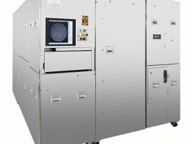 ニコン、300mmウェハ全面を高感度で高速に一括検査する自動マクロ検査装置「AMI-5700」