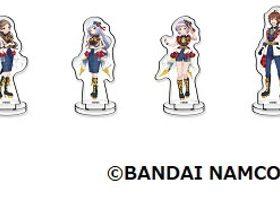 バンダイナムコアミューズメント、「アイドルマスター ポップリンクス」のオリジナルグッズ「ミニチュアアートスタンド」
