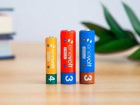 スリー・アールシステム、「エネボルト ニッケル水素充電池」のラベル