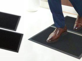 エレコム、靴底用抗菌マット